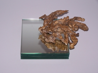 bronze drawing, 2008