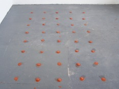 from the melting series, terracotta ice clay, 2007