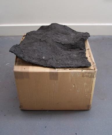 graphite on box, Aber 2010