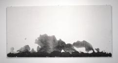 graphite on gesso, 2010