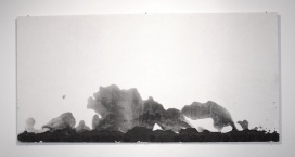 graphite on gesso, 2010
