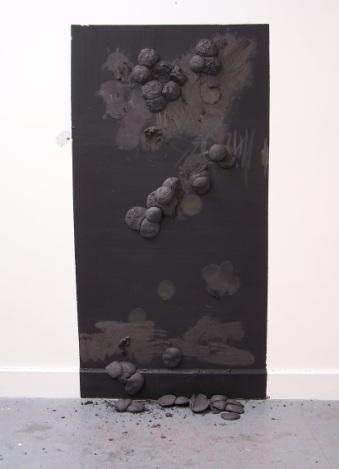 graphite wall 1, Aber 2010