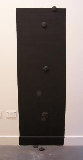 graphite wall 2, Aber 2010