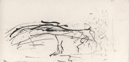 ink on card 1, 2006
