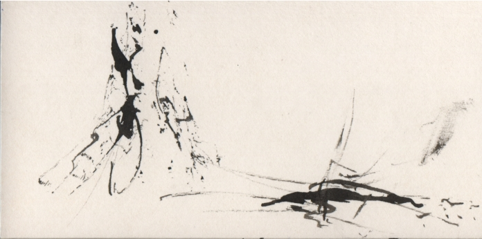ink on card 4, 2006