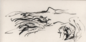 ink on card 5, 2006