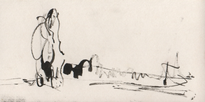 ink on card 7, 2006