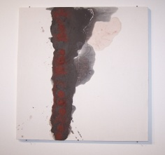 line on gesso, 2010