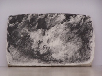 plaster drawing 2, Aber 2010