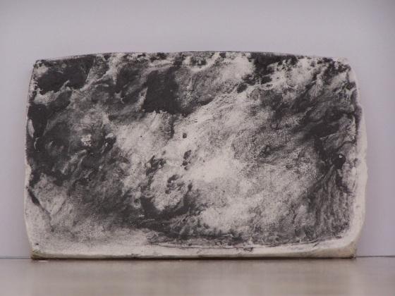 plaster drawing 2, Aber 2010