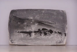 plaster drawing 3, Aber 2010
