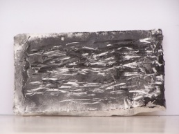 plaster drawing 4, Aber 2010