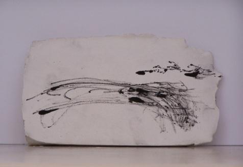 plaster drawing 5, Aber 2010