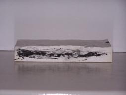 plaster drawing 6, Aber 2010
