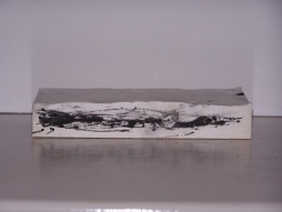 plaster drawing 6, Aber 2010