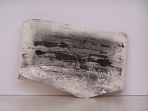plaster drawing 7, Aber 2010