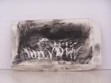 plaster drawing 8, Aber 2010