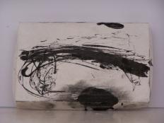 plaster drawing 9, Aber 2010