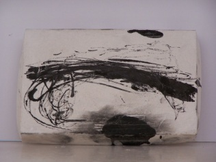 plaster drawing 9, Aber 2010