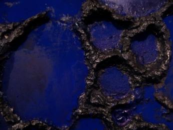 blue monolith detail, 2012